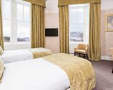 Valley Twin room, Atholl Palace